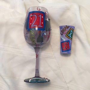 Lolita Wine glass and shot glass shooter 21 set
